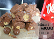 Mars and Malteser Fudge