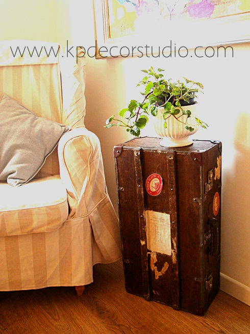 Kp tienda vintage online maleta de madera antigua del siglo xix old wooden suitcase - Comprar cajas de madera para decorar ...