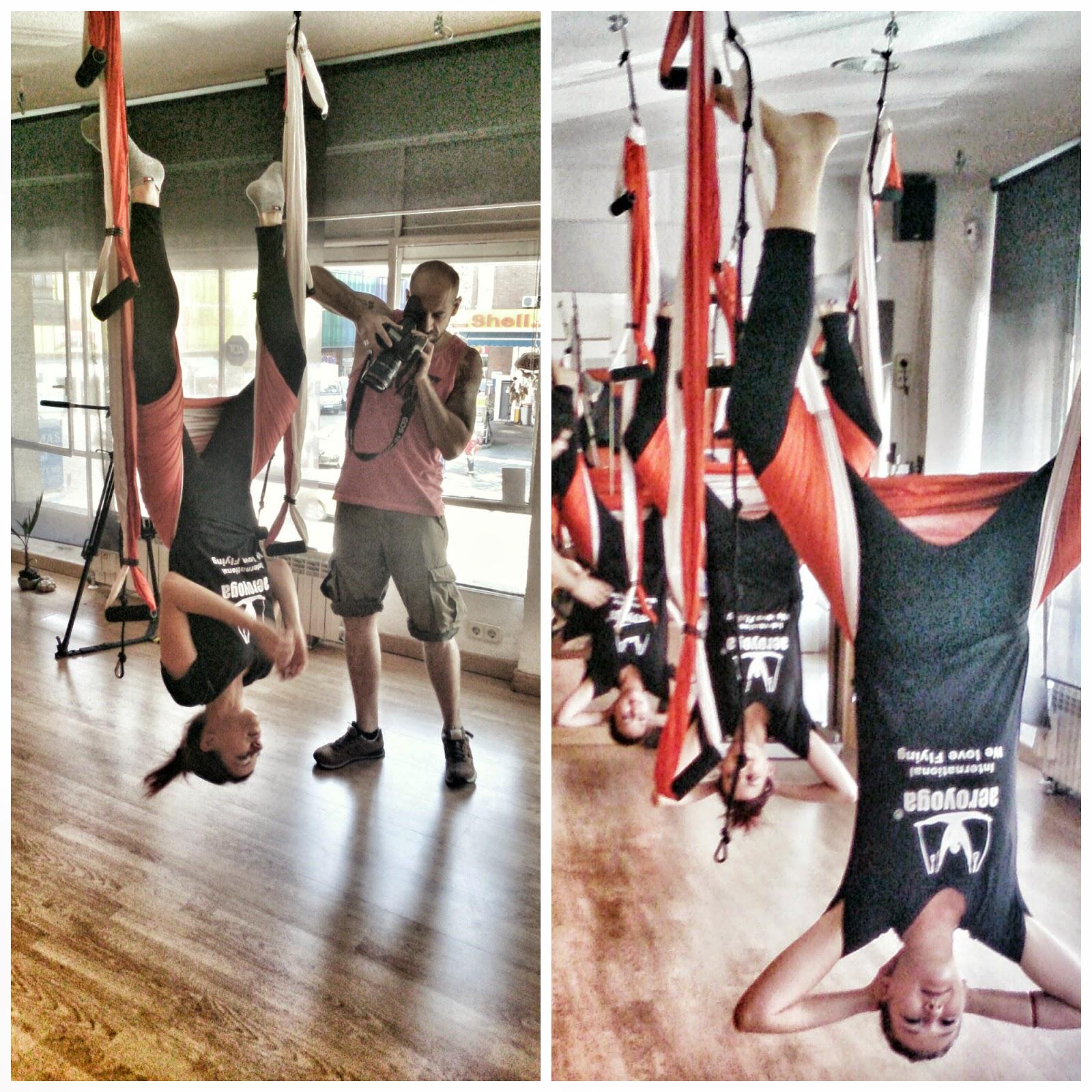 aero pilates yoga aereo trapecio