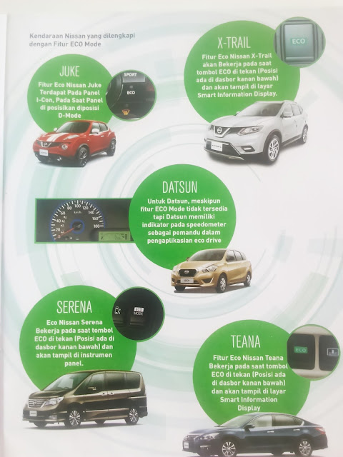 Nissan eco drive
