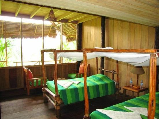 Pacaya Samiria Amazon Lodge by Hatuchay is located in the buffer zone of the reserve.