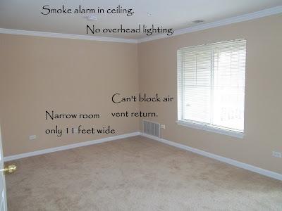 Dream mom studio apartment sneak peek master bedroom - Smoke detector placement in bedroom ...