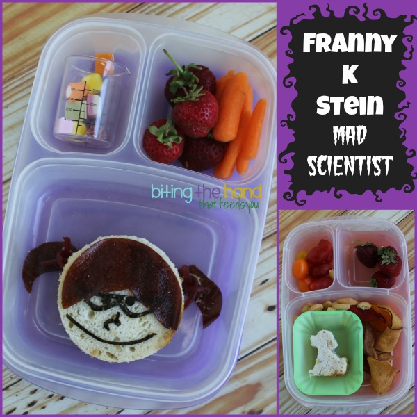 Franny K Stein: Mad Scientist bento lunch!