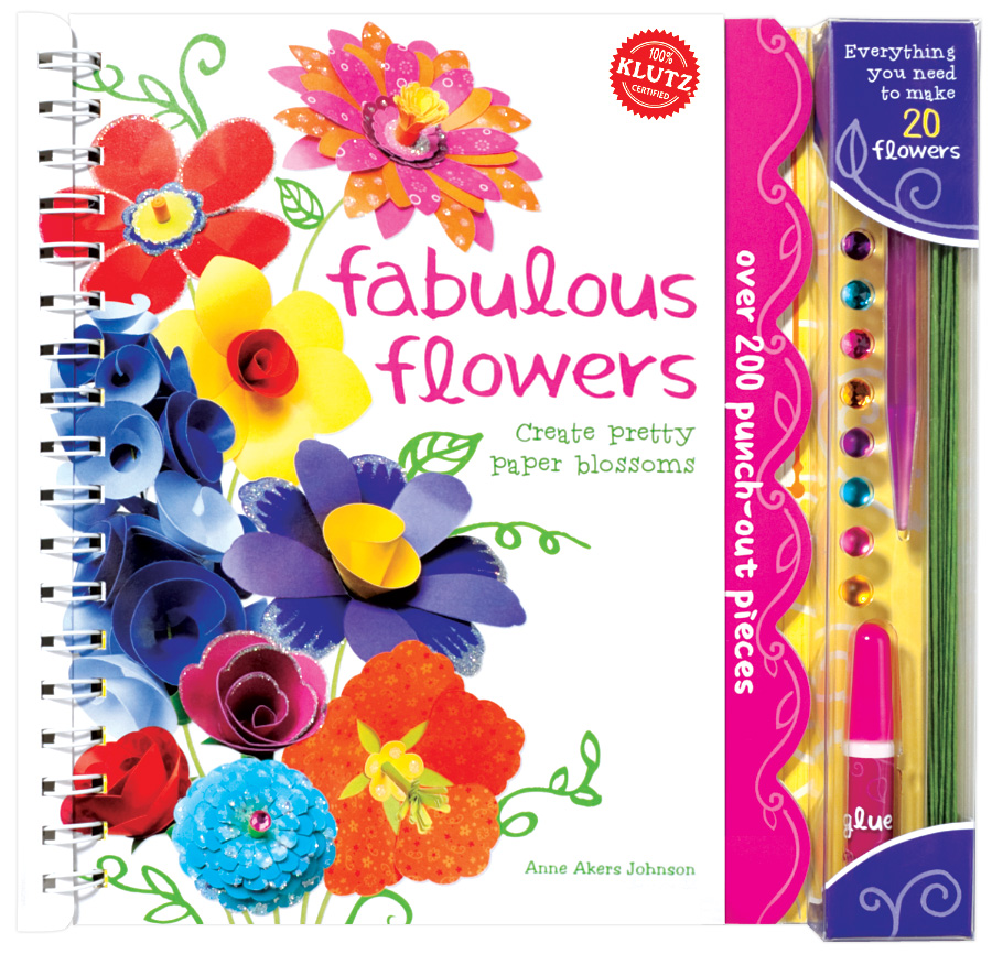 Whimsy Love Summer Diary Day 17 Klutz Paper Flowers
