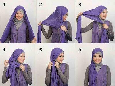 cara memakai hijab jilbab 03