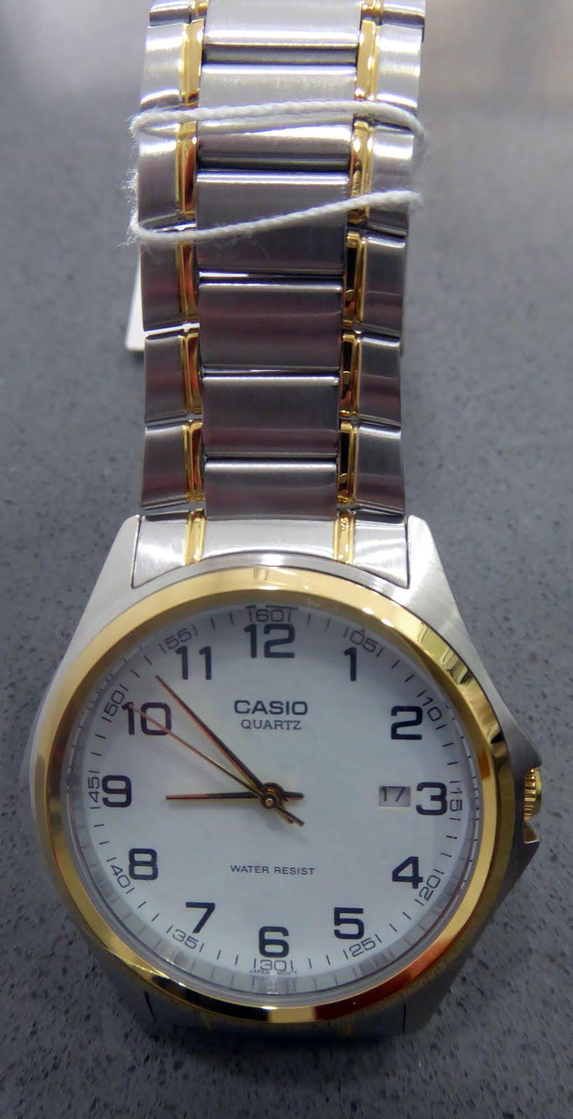 Reloj Casio Caballero con army bicolor de acero