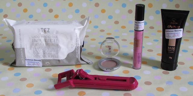 NatimusBOX Makeup - Edição de Novembro