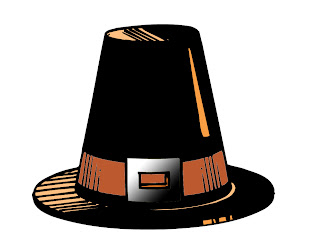 Free download Pilgrim's hat for Thanksgiving