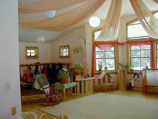 Natural Classroom Design ~ Let the children play inspiring waldorf steiner