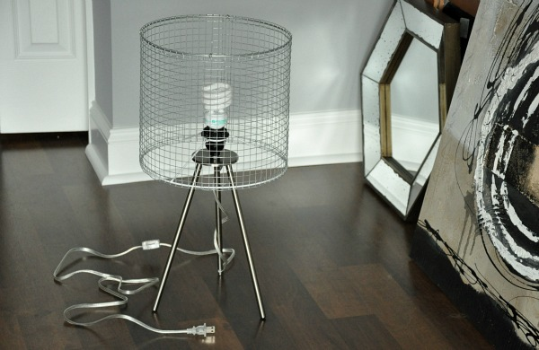 modern wire lampshade