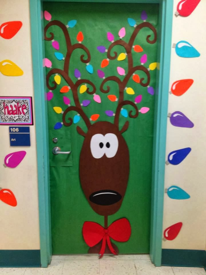 Christmas Door Decorating Ideas 720 x 960