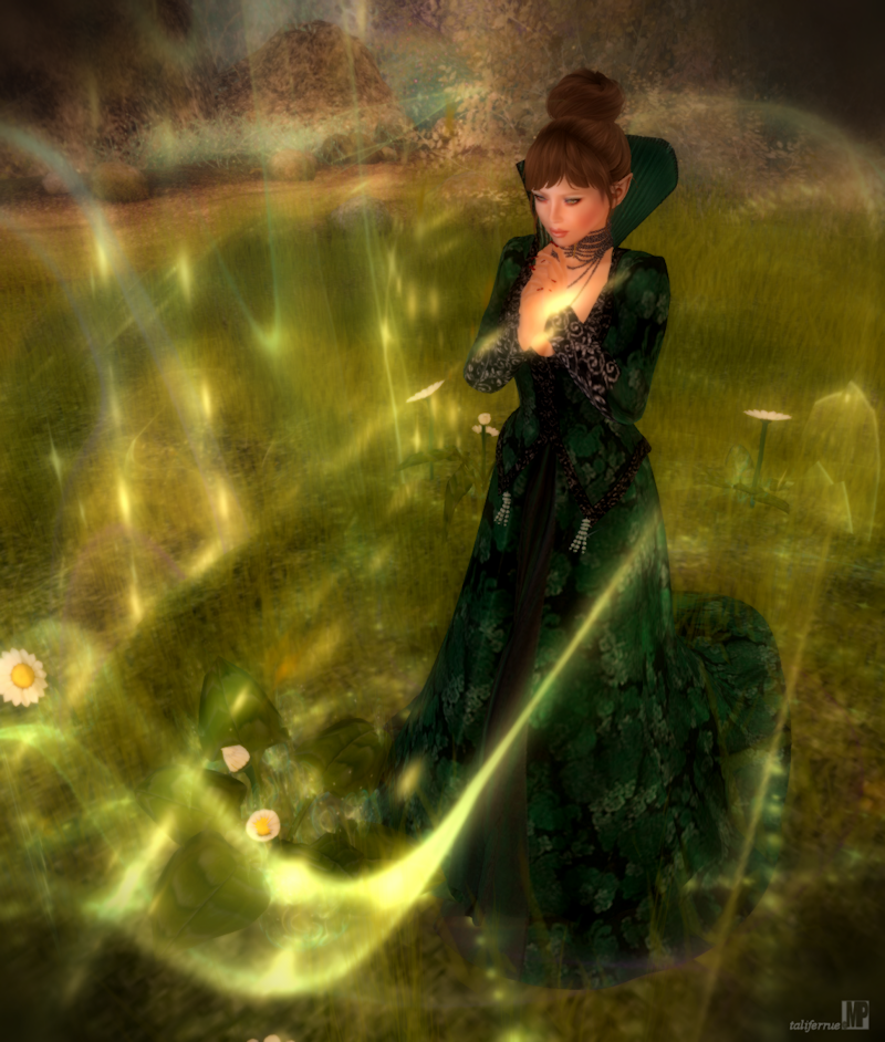 Second Life Avatar Fantasy Role-Play Fashion Review