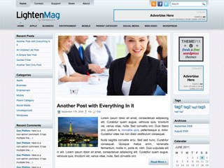 Lightenmag Free WordPress Theme