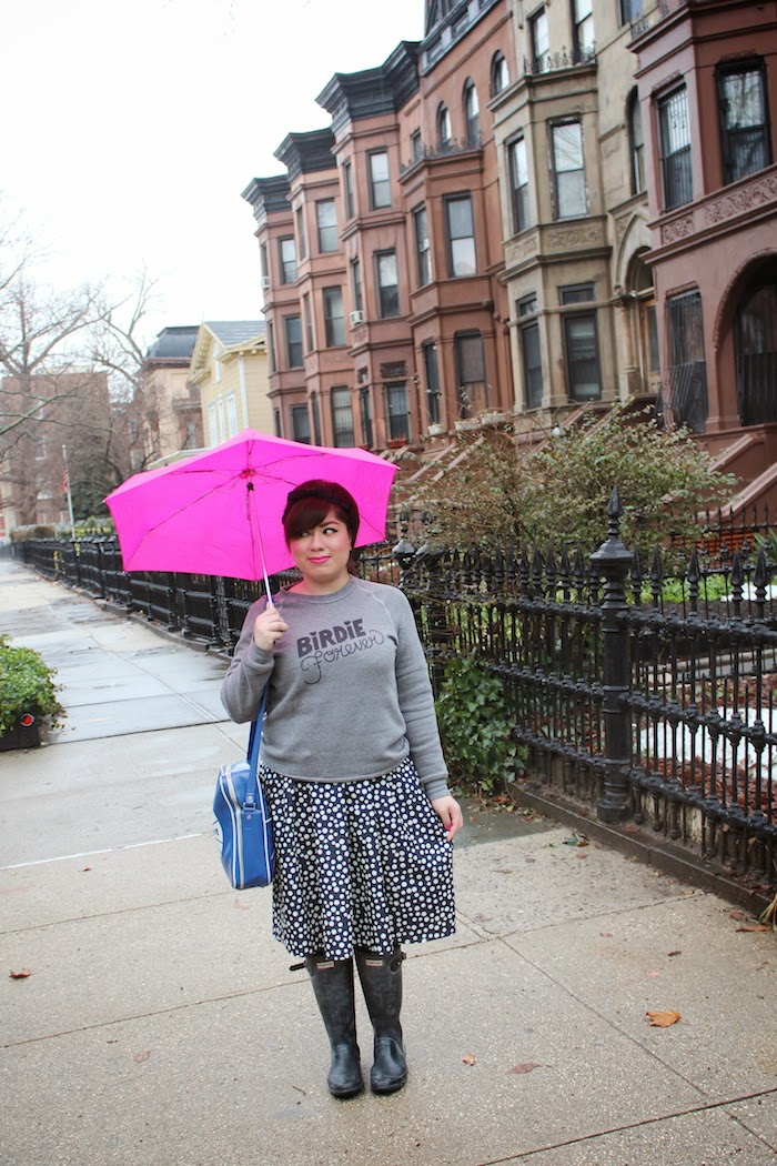 Twee Valley High: A Rainy Day in Brooklyn