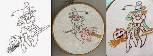 October Stitchalong on Feeling Stitchy