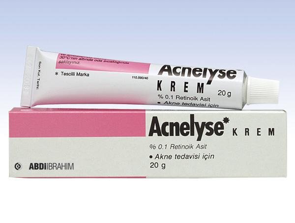 Retinoic acid % 0.1 acne RETINOL VITAMIN A Retin a cream 20 gr