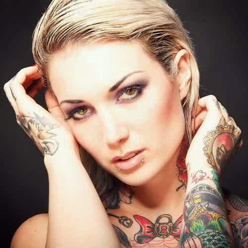 Melissa Dramaqueen Sexy Hand Tattoo Designs