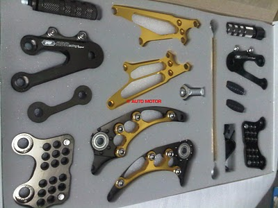 modifikasi: Footstep Underbone RDR Two Tones Ninja 250