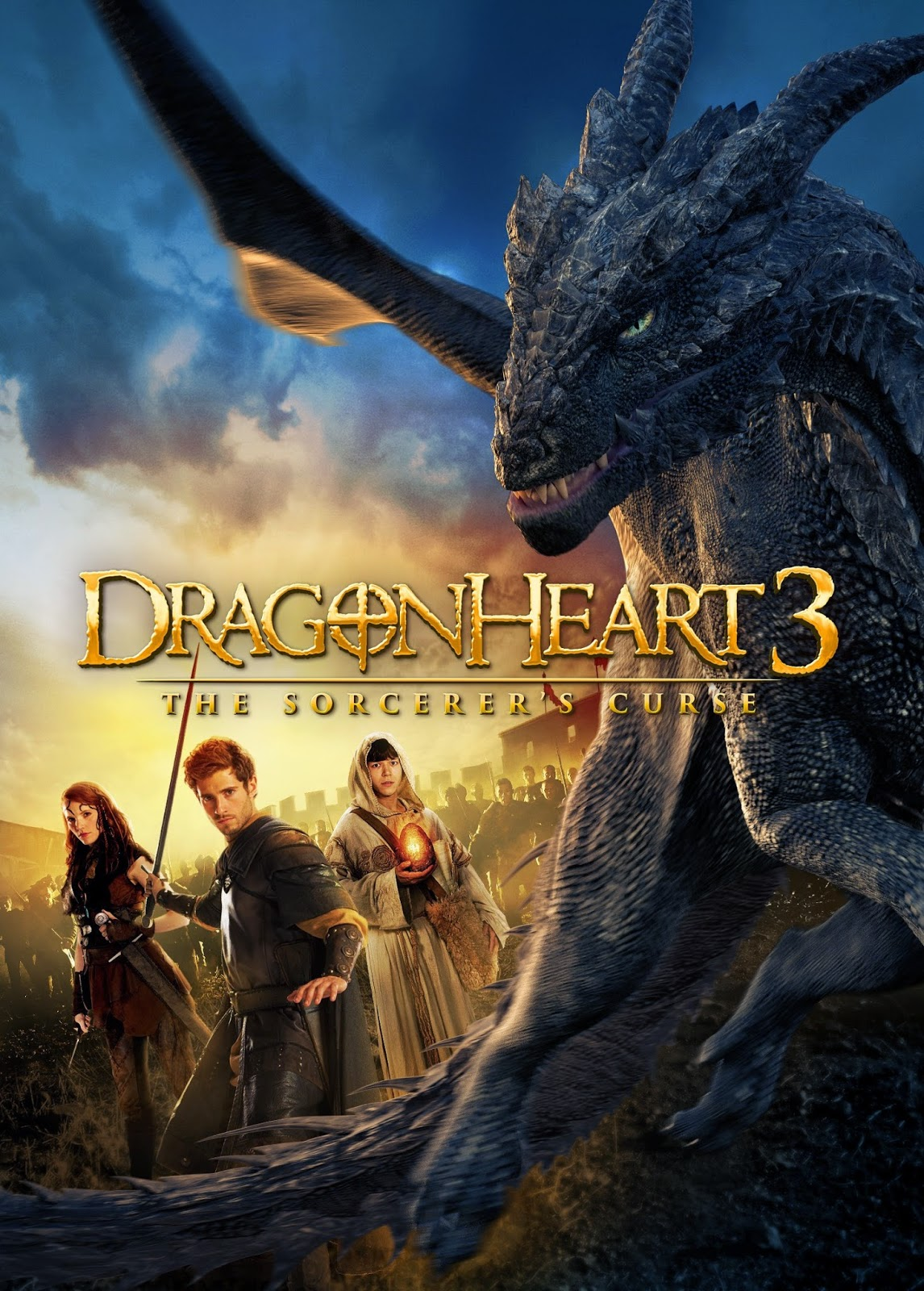 Dragonheart 3: The Sorcerer's Curse (2015) HDRIp tainies online oipeirates