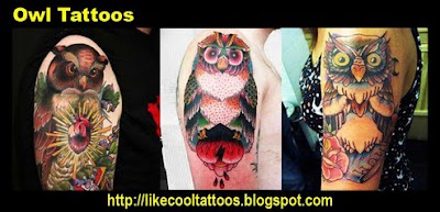 Symbolic Meaning of Owl Tattoos