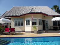 Pool villa Rood, Hua Hin, Thailand