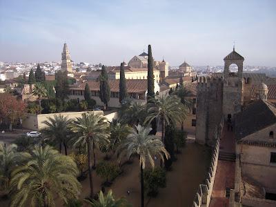 Vista de la ciudad desde el Alcázar