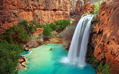 Arizona Full HD Waterfall Nature Wallpapers Widescreen for Laptop Desktop