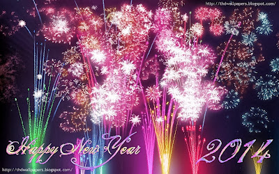 Happy New Year Fireworks Wallpapers Image Photos 2014 Latest