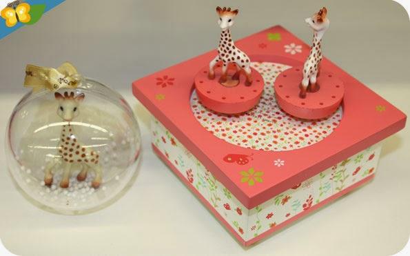 Boîte à musique Sophie la girafe - Trousselier