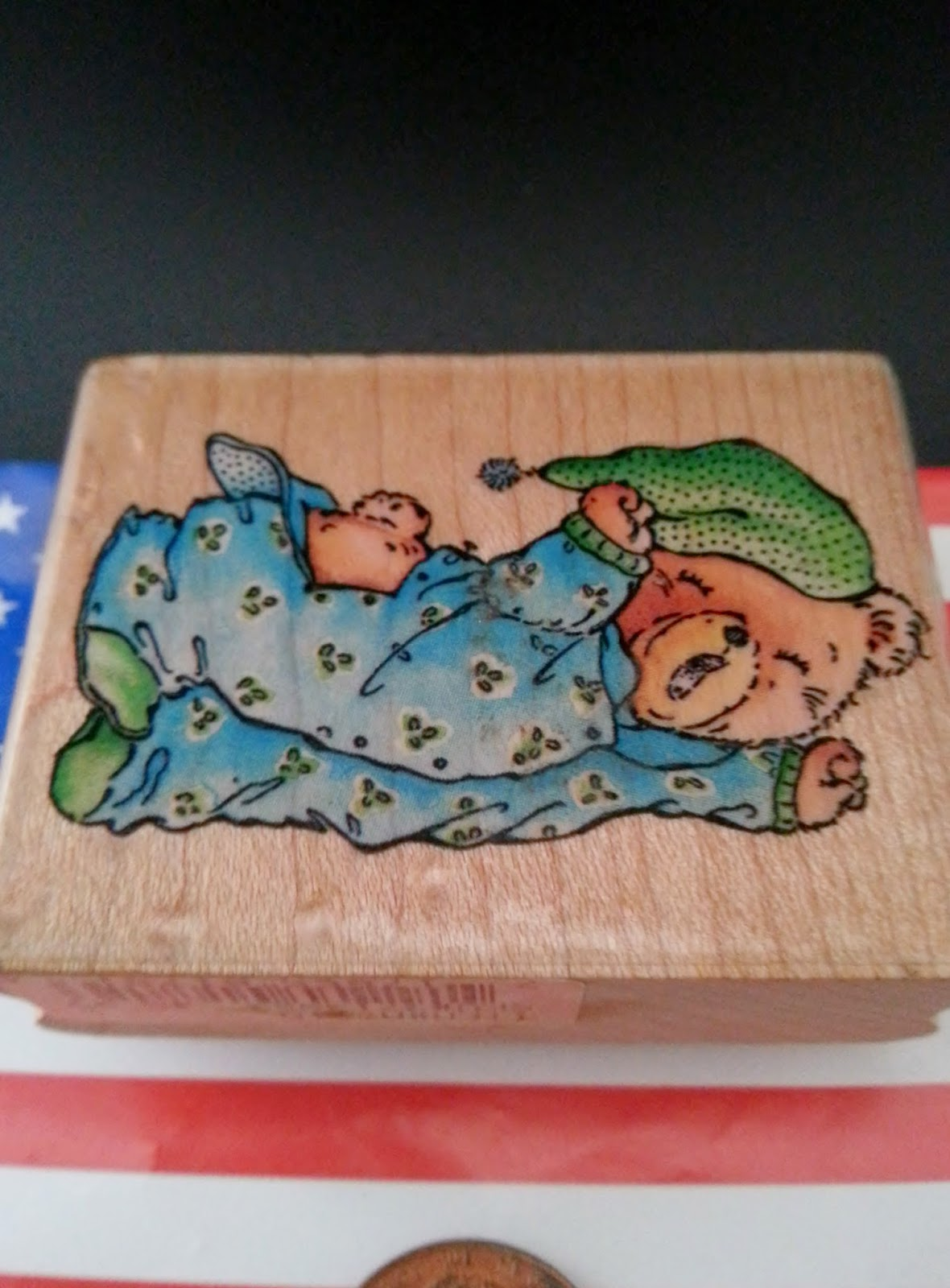http://www.storenvy.com/products/11596985-bedtime-bear-a781d-wood-mount-rubber-stamp-stampede-rubber