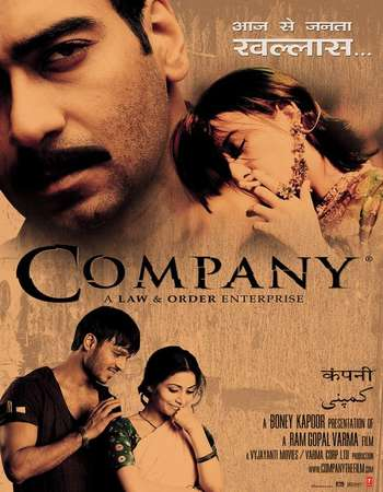 Poster Of Company 2002 Hindi  300MB  720p  HEVC Watch Online Free Download Worldfree4u