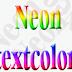 """Hiệu ứng """"Neon"""" cho text trên Blogspot"""