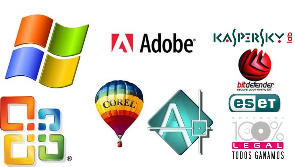 ejemplo software aplicacion: