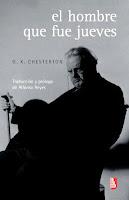 Gilbert K. Chesterton El hombre que fue jueves