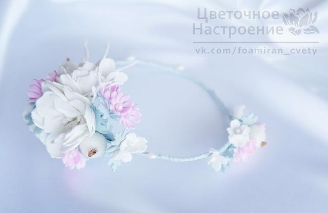 свадебный веночек для невесты