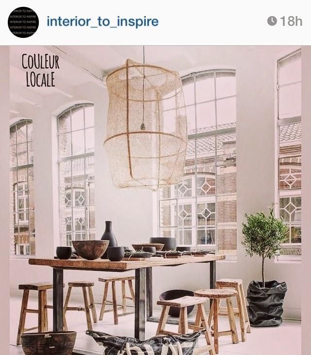 Selección instagram de imágenes que inspiran para decorar