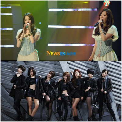 Davichi and T-ara First first Collaboration Digital Single We Were In Love