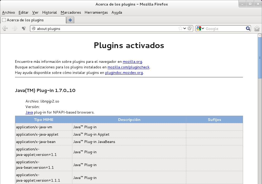 TUX FEDORA BLOG @@@@: C�mo instalar Java 7 JRE/JDK de Sun ...