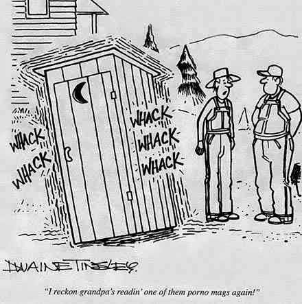 Outhouse jokes