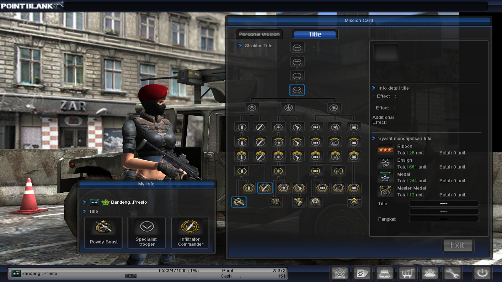 MP7 title pointblank