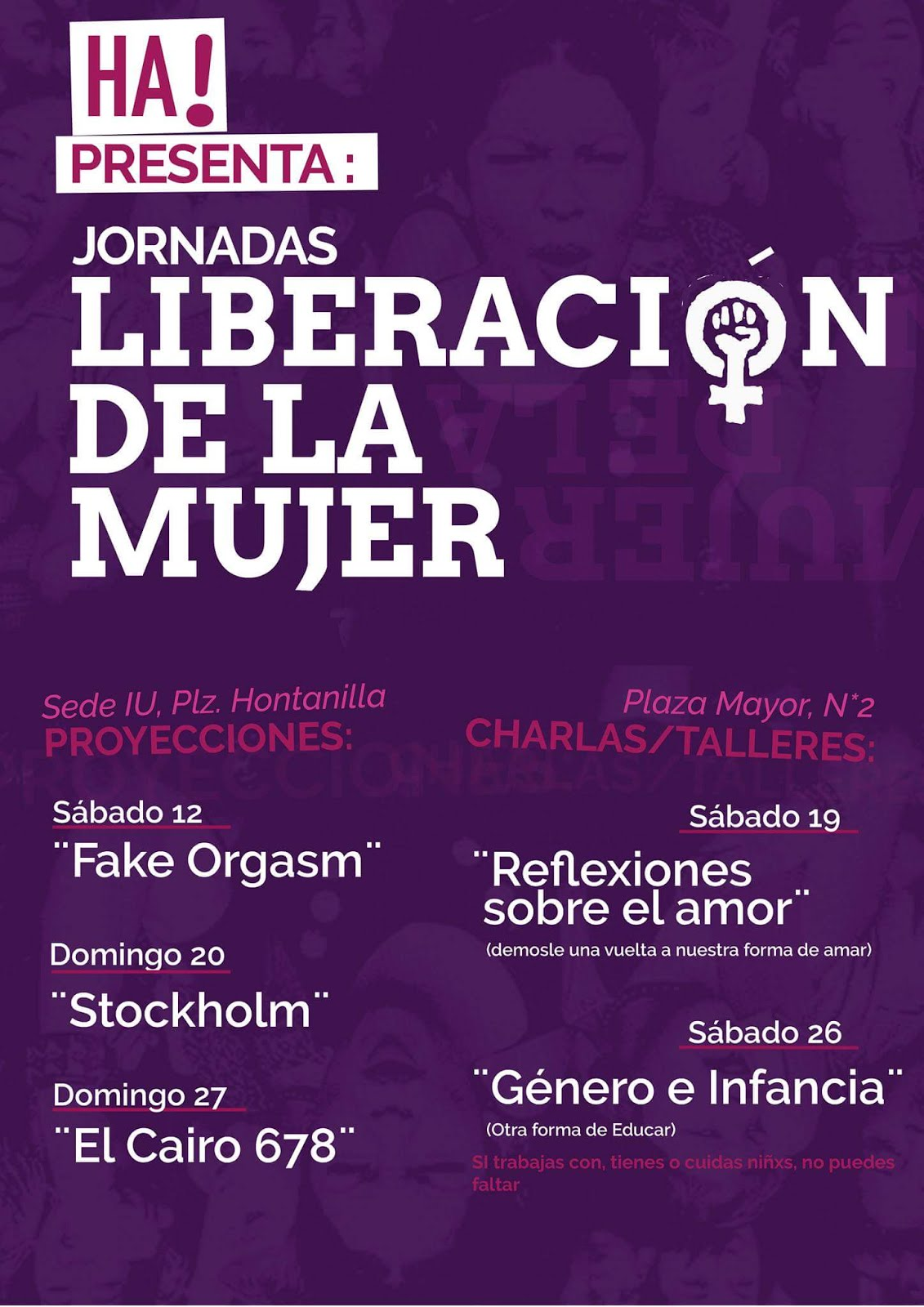 Jornadas de liberación de la mujer