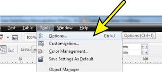 Cara Meningkatkan Performa CorelDraw, www.tutoriallengkapcoreldraw.blogspot.com