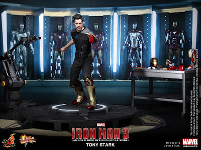 Hot Toys Iron Man 3 Tony Stark figure