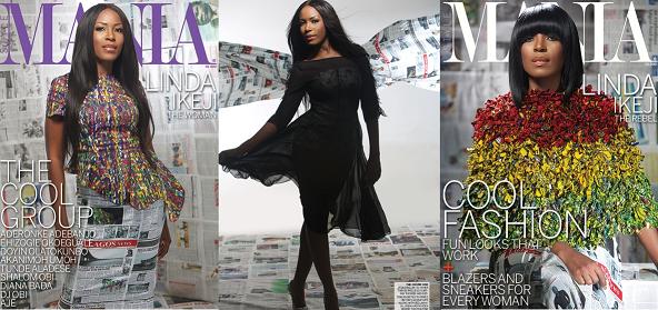 Linda Ikeji Mania cover