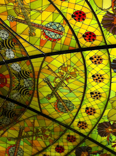 Stained Glass mosaic, Grand ol Opre, Nashville, TN