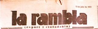diario antiguo barcelona canaletas