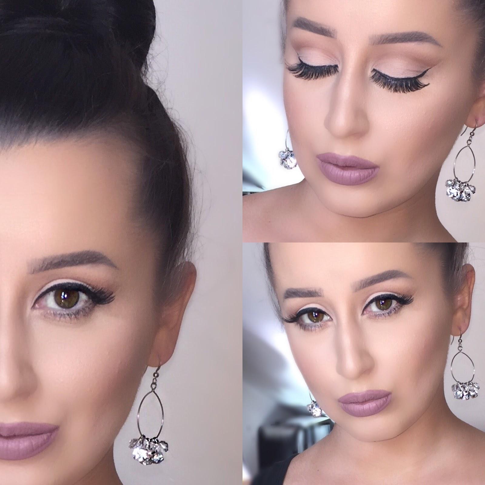 Soft Brown Cut Crease Makeup Tutorial