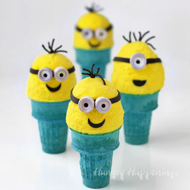 It's been far too long since I've done a party ideas round-up, and with the release of the new Minions movie this summer these silly little yellow pill-shaped dudes are bound to be one of the hottest party themes of the year.