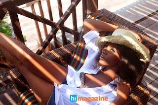 Genevieve Nnaji Shows Off Hot Bod In Beach Wear