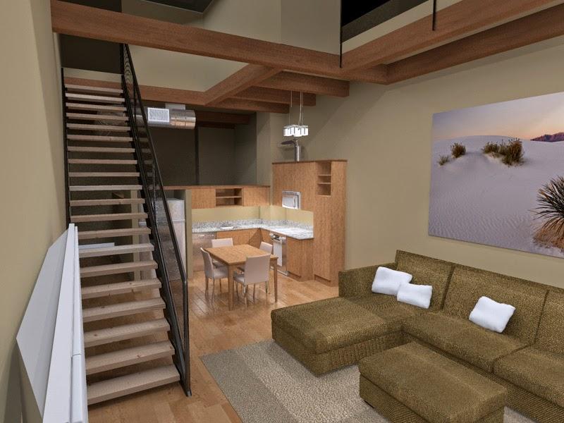 """Desain Interior Rumah Model """"Loft"""" Banyak Digemari"""